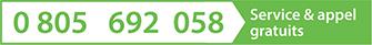 0 805 692 058 Service & appel gratuits